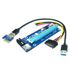 PCI express x1 to x16 slot adapter riser for PCIe Graphics Video Sound card