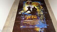 STAR WARS le retour du jedi !  g lucas affiche cinema science fiction