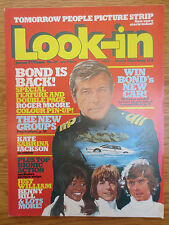 LOOK IN MAGAZINE 9 July 1977 KATE JACKSON Charlies Angels Roger Moore James Bond