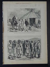 Illustrated London News Full Page B&W S6#115 Jan 1879 The Afghan War