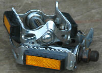 Vintage Raleigh Bicycle Quill Pedals   Hercules Triumph Robin Hood Racing Bike