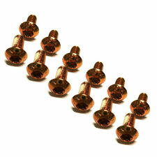 gobike88 MOWA Disc Rotor Screws, M5x10mm, Orange, 962