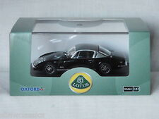 LOTUS ELAN +2 - Black / Silver - Oxford diecast 1:43 scale LE004 - New see notes
