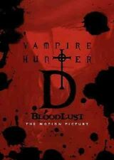 Vampire Hunter D: Bloodlust NEW Remastered (DVD, 2015)