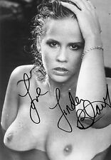 LINDA BLAIR . Hand signed autograph . 8-10 Inch . Excellent condition .
