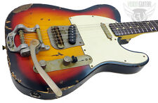 NEW! Nash Guitars Model T-63 3-Tone Sunburst Nitro - Lollar Pickups & Bigsby!