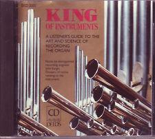 King of Instruments organ CD on US Delos (1988)