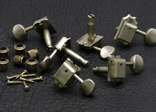 Gotoh 6-In-Line Vintage Guitar Tuners • Nickel • Aged / Relic SD91-05M-L6NA