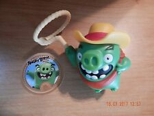 """MCDONALD'S HAPPY MEAL TOY THE ANGRY BIRDS MOVIE 2016 COLLECTIBLE 4"""" X 2 1/2"""""""