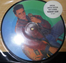"NICK KAMEN NOBODY ELSE / ANY DAY NOW 7 "" SINGLE PICTURE DISC"