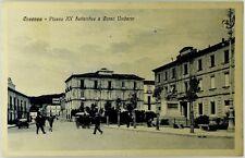 Cartolina Formato Piccolo- Cosenza - Piazza XX settembre E Corso Umberto Viag
