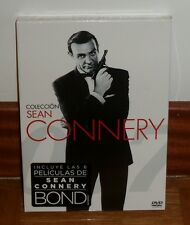 JAMES BOND 007-COLECCION SEAN CONNERY-6 DVD-NUEVO-PRECINTADO-ACCION-NEW-SEALED