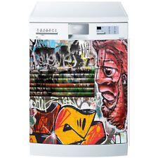 Magnet lave vaisselle Graffitis et Tags 60x60cm réf 580 580