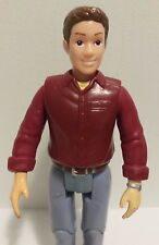 """Fisher Price Loving Family Grand Dollhouse People 2006 Dad Man Doll J8224  6"""""""