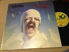 "SCORPIONS SPANISH 12"" LP SPAIN HARVEST 82 - BLACKOUT - HARD ROCK HEAVY METAL"