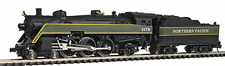 Model Power #87430 Northern Pacific 4-6-2 Streamliner Steam Locomotive