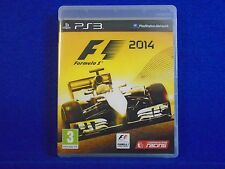ps3 F1 2014 Formula 1 One The Official Racing Game Playstation PAL REGION FREE