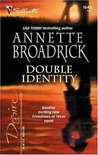 Crenshaws of Texas: Double Identity Bk. 5 by Annette Broadrick (2005, Paperback)