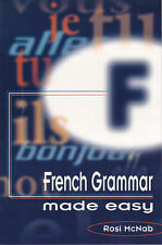 French Grammar Made Easy,GOOD Book