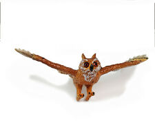 AAA 96443 Posable Owl in Flight Model Toy Bird Figurine Replica - NIP