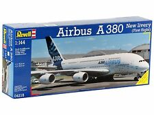 NEW REVELL 1:144 SCALE AIRBUS A380 NEW LIVERY MODEL KIT SEALED 04218
