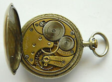 "VERY RARE ANTIQUE SWISS MEN'S POCKET WATCH - ""OMEGA"" 1920's"