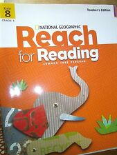 National Geographic Reach for Reading, Grade 1, Unit 8, Teacher's Edition, 2013
