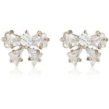NEW Juicy Couture Earrings Crystal Bow