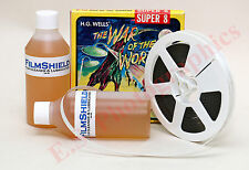200 ML di Film Shield Cleaner & conservante per 8mm 9.5mm 16mm 35mm & 70mm Film