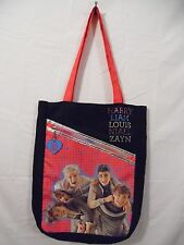 One Direction 1D black Tote bag mini backpack handbag girls new pocketbook