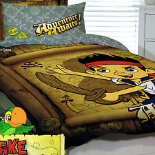 Jake & Neverland Pirates -Adventure Awaits- Single/US Twin Bed Quilt Doona Cover