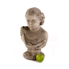 Gartenfigur Skulptur Büste Steinfigur Sandstein Figuren Statue Gartendeko 482853