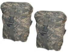 SUSTAINMENT POUCHES MOLLE II ACU CAMO US ARMY Set Of 2 good