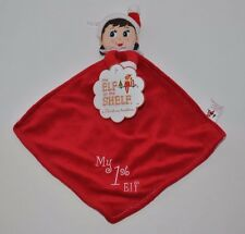 NEW Elf on the Shelf girl My 1st Elf Cuddly Lovey Plush Small Blanket Rattle