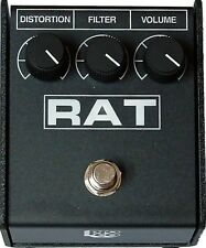 PROCO RAT 2 DISTORTION PEDAL w/ FREE SAME DAY SHIPPING! Rat2 Guitar Effect Box