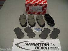 2009-2013 COROLLA Front Brake Pads Genuine Toyota Ceramic 04465-AZ018-TM