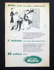 C683 - Advertising Pubblicità- 1953 - MOTTA PANETTONE