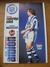 27/08/1997 West Bromwich Albion v Cambridge United [Football League Cup] (Item h
