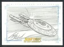 Quotable Star Trek TNG Sketch USS Enterprise-D v3 1:480
