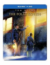 PRE ORDER : THE POLAR EXPRESS (STEELBOOK)  BLU RAY - Sealed Region free for UK