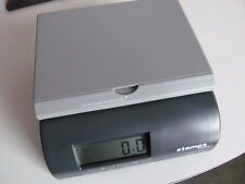 """STAMPS.COM 500s POSTAL SCALE 5 LBS 9v Battery or AC Adapter Driven  6 x 6 x 3"""""""