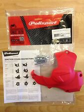 HONDA  CRF 450 R  2011-2016  IGNITION COVER PROTECTOR GUARD RED