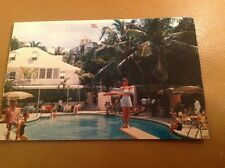 Royal Victoria Hotel Pool Postcard  - Nassau Bahamas 2 available. From Estate