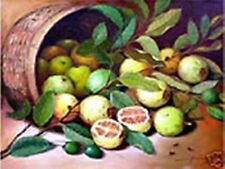 Guava Fruits 18x24 by Bangbang Art Philippines Oil Painting