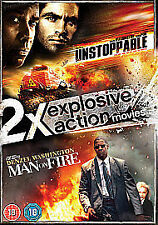 Unstoppable/Man On Fire DVD NEW