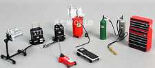 RC Scale Mechanic Parts Metal GARAGE ACCESSORIES TOOLS 1/18 For Scale Models
