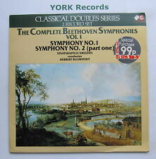 CR 109 - BEETHOVEN - Symphonies No 1 & 2 BLOMSTEDT - Ex Con Double LP Record
