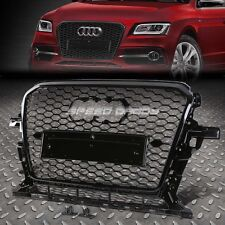 RS STYLE BLACK ABS FRONT BUMPER HONEYCOMB GRILL GUARD FOR 12-16 AUDI Q5 MLB/MLP