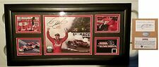 Mounted Memories Auto Dale Earnhardt Jr framed photo W/Race used tire Limied Edi