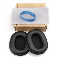 2x PU Leather Ear Pads Cushions For Audio Technica ATH-M40x M50 M50S M20 M30 M40
